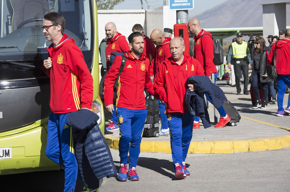 STG con la Selección Española