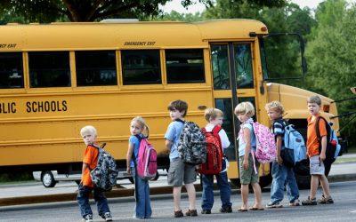 Los beneficios del transporte escolar