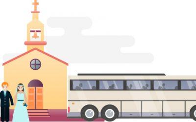 Bodas: Ideas para facilitar a los invitados la llegada a la celebración